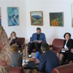 Komisja z wizytą w Muzeum Diecezjalnym