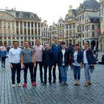 Wspaniała opolska młodzież w Brukseli