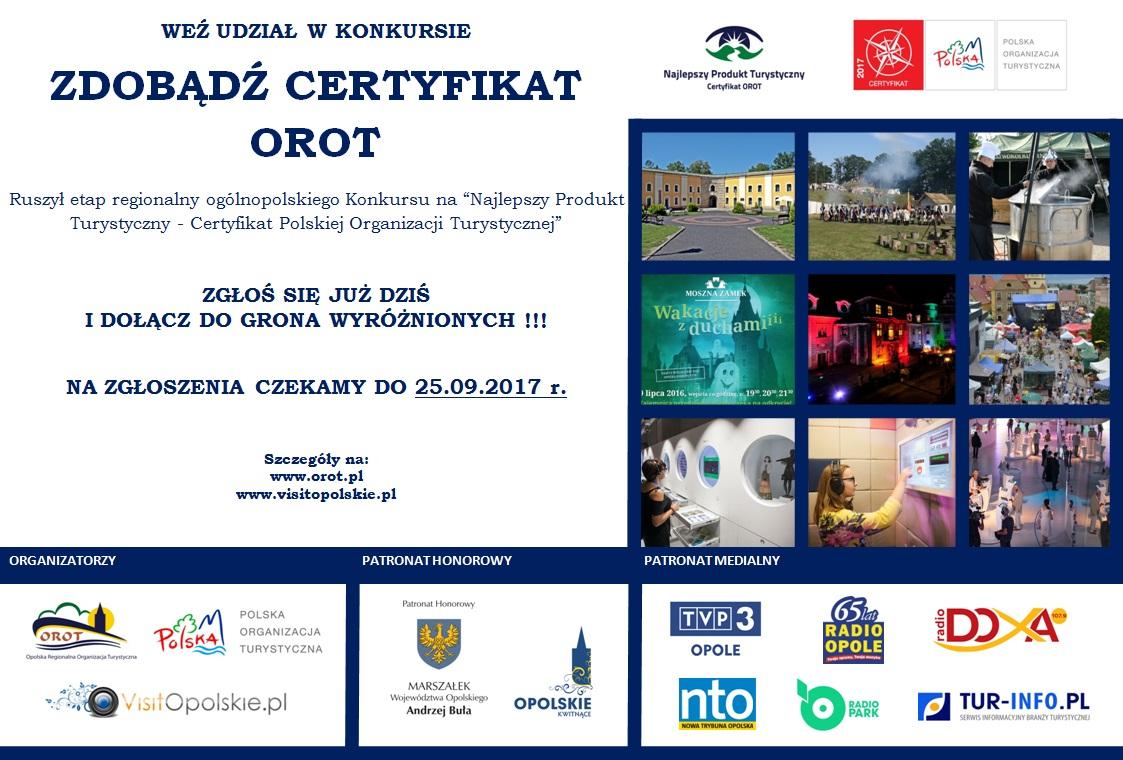 Czekamy na zgłoszenia na Najlepszy Produkt Turystyczny Województwa Opolskiego