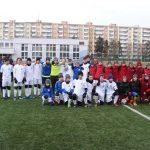 Młodzi piłkarze grali w Ołomuńcu