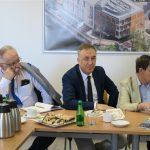 Komisja z wizytą w Opolskim Centrum Rozwoju Gospodarki