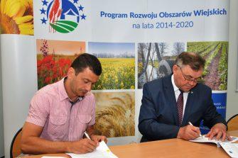 Uroczyste podpisanie umów w ramach Konkursu nr 2/2018 dla partnerów KSOW