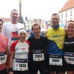 Pobiegli w Półmaratonie Ołomunieckim