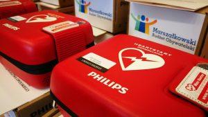 Defibrylatory dla strażaków