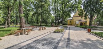 Rewitalizacja części parku przy ul. Sobieskiego w Głubczycach