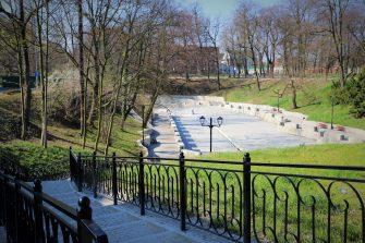 Przebudowa amfiteatru miejskiego wraz z rewaloryzacją Parku im. Bolesława Chrobrego w Brzegu