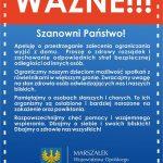Apel marszałka województwa opolskiego