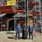 Remont kościoła i atrakcje dla turystów