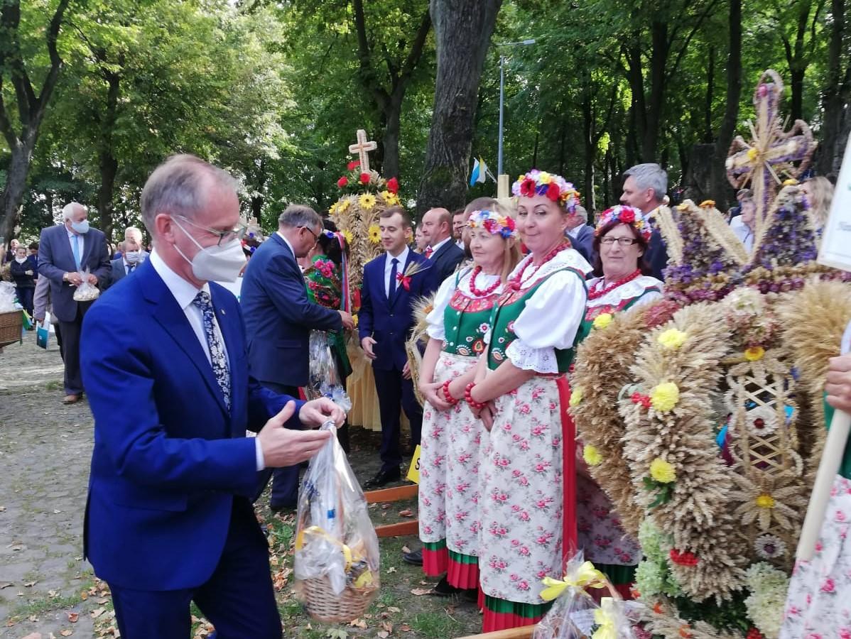 Uroczystość odbyła się na Górze Świętej Anny