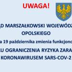 Ograniczenia dla klientów Urzędu Marszałkowskiego Województwa Opolskiego
