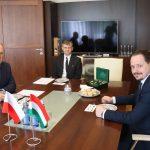 Spotkanie Marszałka z Konsulem Generalnym Węgier