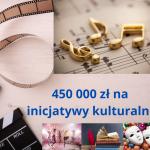 450 tysięcy złotych na inicjatywy kulturalne