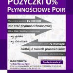 """Program """"Pożyczka Płynnościowa – POIR"""""""