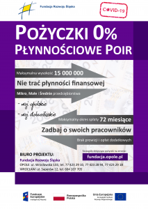 """Program """"Pożyczka Płynnościowa - POIR"""""""