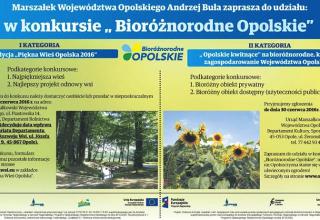 Bioróżnorodne Opolskie – konkurs