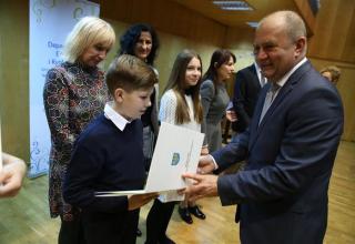 """Prof. Stanisław Nicieja z tytułem """"Professor Opoliensis"""""""