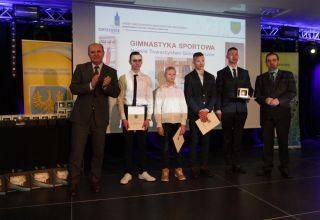 Gratulacje dla młodych sportowców