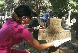 Pojednanie przy porządkowaniu grobów