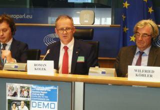 """""""Opolskie dla Rodziny"""" w Parlamencie Europejskim"""