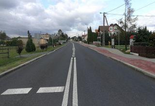 Januszkowice mają nową drogę i ścieżkę rowerową