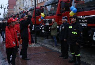 Nowoczesne samochody dla strażaków