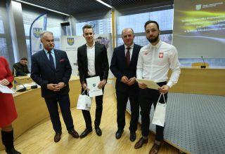 Opolscy sportowcy docenieni przez marszałka województwa