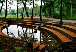 Zagospodarowanie parku i stawów w Chróścinie