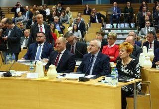 Inauguracyjna sesja sejmiku województwa