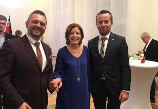 Przewodniczący sejmiku z wizytą w Moguncji