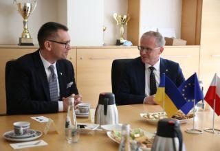 Współpraca z Ukrainą się rozwija