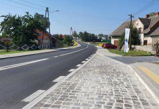 Koniec przebudowy drogi w Kórnicy
