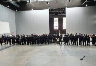 Strażacy zabezpieczeni w sprzęt