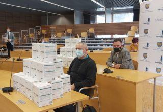 Maseczki z Nadrenii-Palatynatu dla opolskich hospicjów