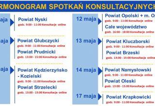 """""""Opolskie na rowery"""" – rozpoczynamy konsultacje społeczne w powiatach"""