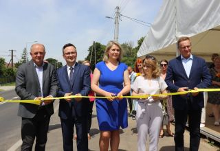 Droga w Biestrzykowicach oficjalnie otwarta