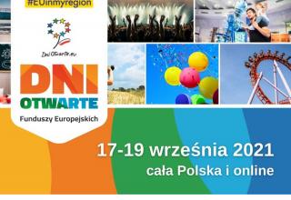 Dni Otwarte Funduszy Europejskich 2021